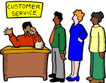 Think of online stewardship as customer service via the Internet.