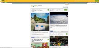 The University of San Francisco's content marketing hub, hashtag.usfca.edu.
