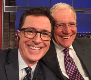 Stephen Colbert will soon be taking over for David Letterman CBS' Late Show.